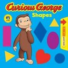 Curious George Shapes: A Slide-And-Peek Book by Houghton Mifflin (Board book, 2008)