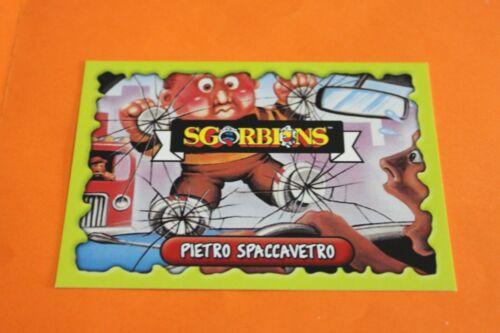 CARD SGORBIONS GARBAGE PAIL KIDS TOPPS 2018 A SCELTA VERSIONE ITALIANA