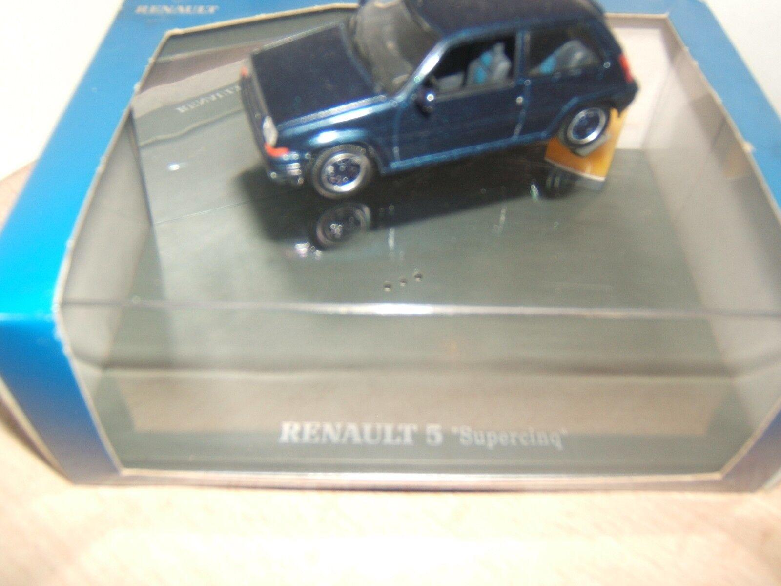 RENAULT  SUPER SUPER SUPER  5  GT TURBO    1 43   UNIVERSALHOBBIES 712bcc