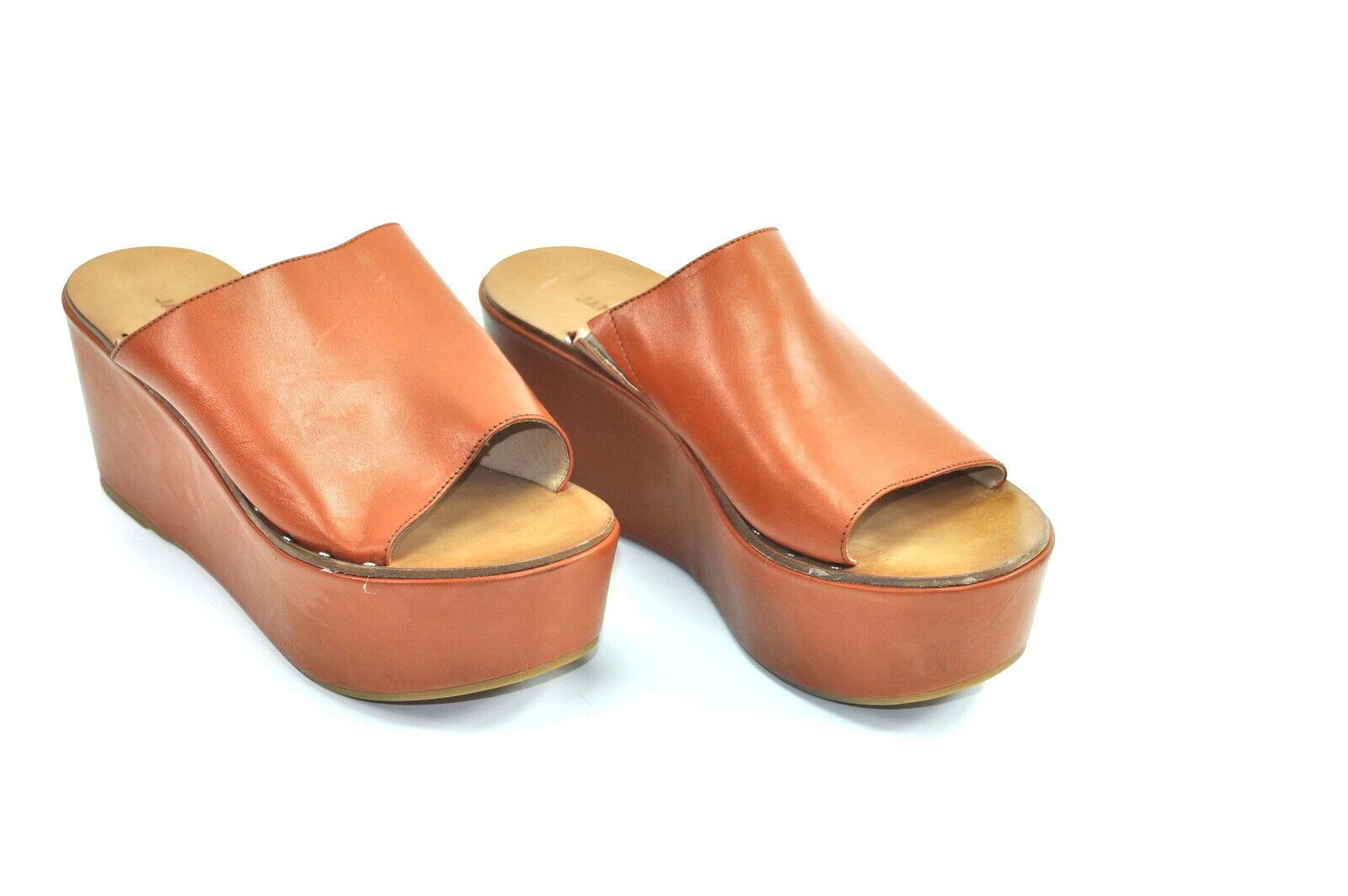 Janet & Janet Damen Sandale Sandalette Pantolette Gr. 39 Nr. 9-L 669