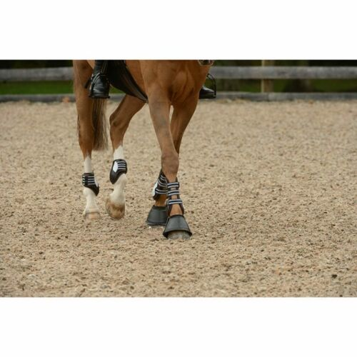 Black All Sizes EquiFit Essential Bell Boot