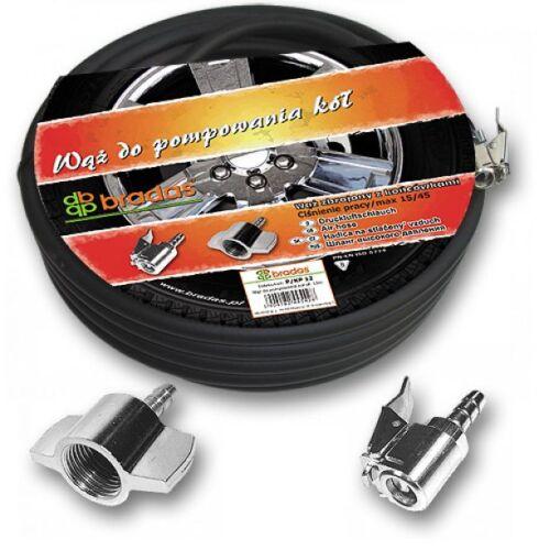 Bradas Kfz mit Zubehör 3,5 m Set Druckluft Reifenfüller Reifenfüllschlauch