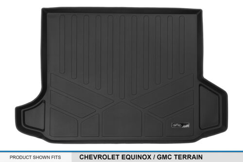 All Weather Cargo Liners MAXTRAY BLK Custom Fit 18 Chevy Equinox