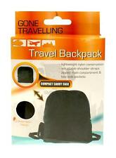 Boyz Toys RY601 Lightweight Nylon Travellers Backpack Zipped Compartments - New