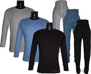 Men-s-Long-Johns-Thermal-Full-Set-Vest-Underwear-UK-Size-M-to-XXL