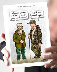 "Saluto CARD. titolo: ""vecchia brushers musings""  </span>"