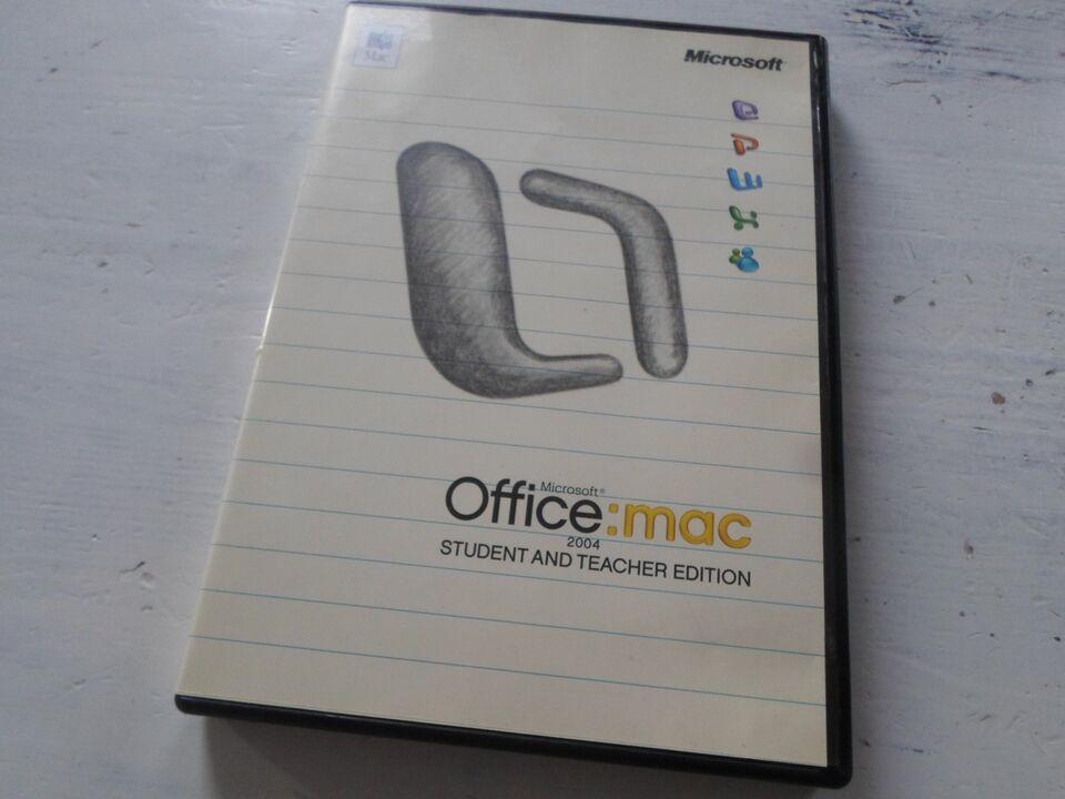 Office:Mac, Office Pakke