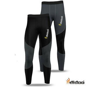 New-Mens-Compression-Base-Layer-Skin-Tight-Long-Pants-running-Thermal-Leggings