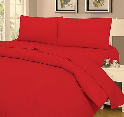 5* 200TC LUXURY HOTEL QUALITY EGYPTIAN COTTON FITTED SHEET ALL UK SIZE