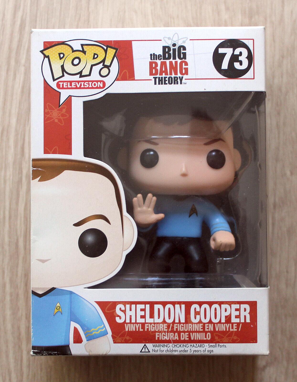 Diverdeimentoko Pop Il gree Bang Sheldon Cooper estrella  TREK + GRATIS ProssoECTOR  Spedizione gratuita per tutti gli ordini