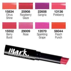 Avon Mark Shine Burst Lipstick Assorted Shades Colours New Ebay