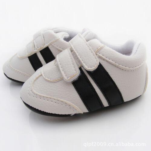 NEW Baby Boy Boutique Double Bar Sneaker Shoes 6-12m Size 3//4 *Blue*