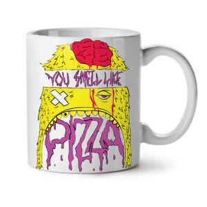 Smell Like Pizza Food NEW White Tea Coffee Mug 11 oz   Wellcoda