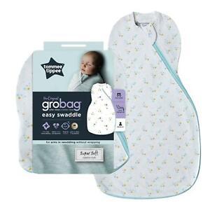 Tommee-Tippee-Grobag-Bebe-recien-nacido-Swaddle-facil-de-dormir-bolsa-0-3m-0-5-Tog-Bebe-Estrellas