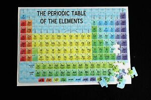 Periodic table chemistry gcse a level revision jigsaw ebay image is loading periodic table chemistry gcse a level revision jigsaw urtaz Images