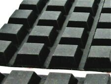 """3//8/"""" H 3//4/"""" Square Sq Rubber Feet for Heavy Cutting Boards w 3M Adhesive Back"""