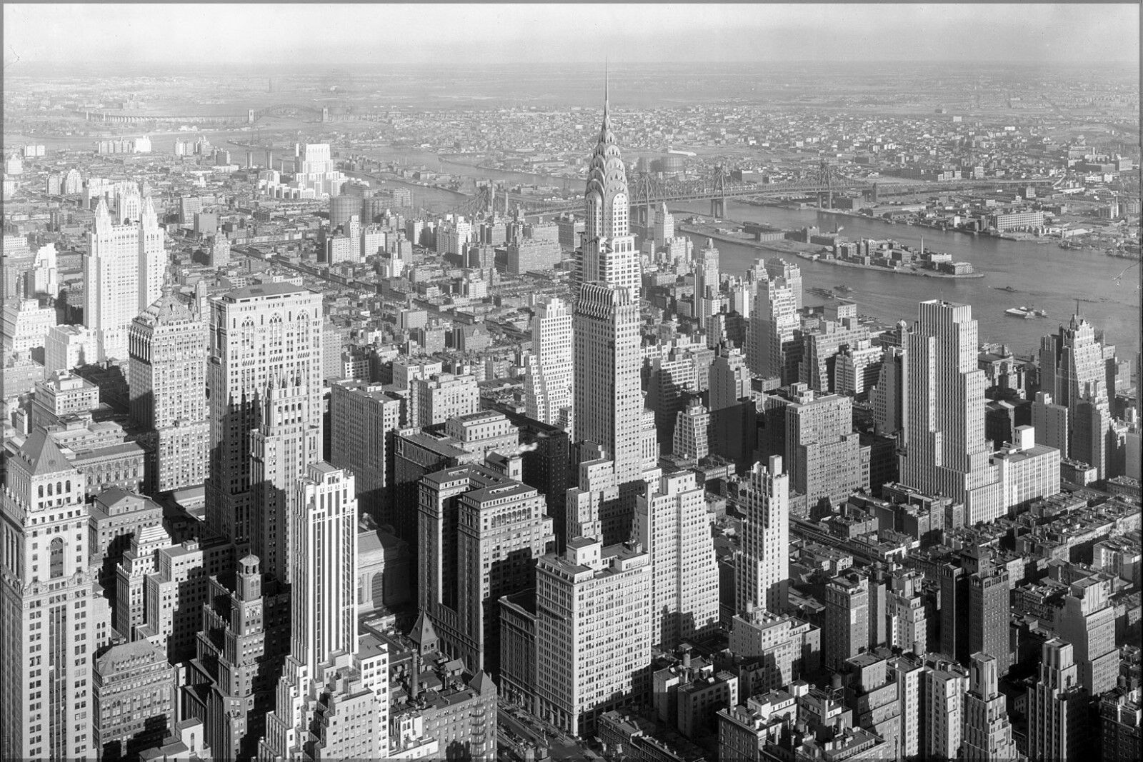 Poster, Many Größes; Chrysler Building Midtown Manhattan New York City 1932
