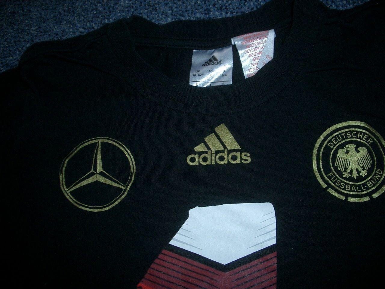 DFB - WM 2014 2014 2014 Home Coming T-Shirt 164  Schwarz m.Prints RARITÄT  COOL  NAGELNEU 5095ad