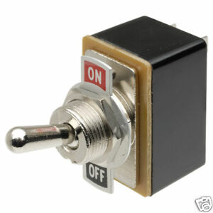 N//O RED PUSH BUTTON SWITCH SQUARE 3AMPS @ 125VAC #PBS2-1PK SPST MOMENTARY-ON