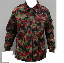 Swiss Army TAZ83 Alpenflage camo Jacket size Large ( 52 ) used Grade 1 condition