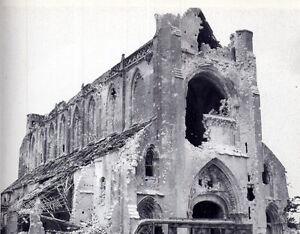 8x6-Gloss-Photo-ww1B3-Normandy-Calvados-Abbaye-d-039-Ardenne-1944-4