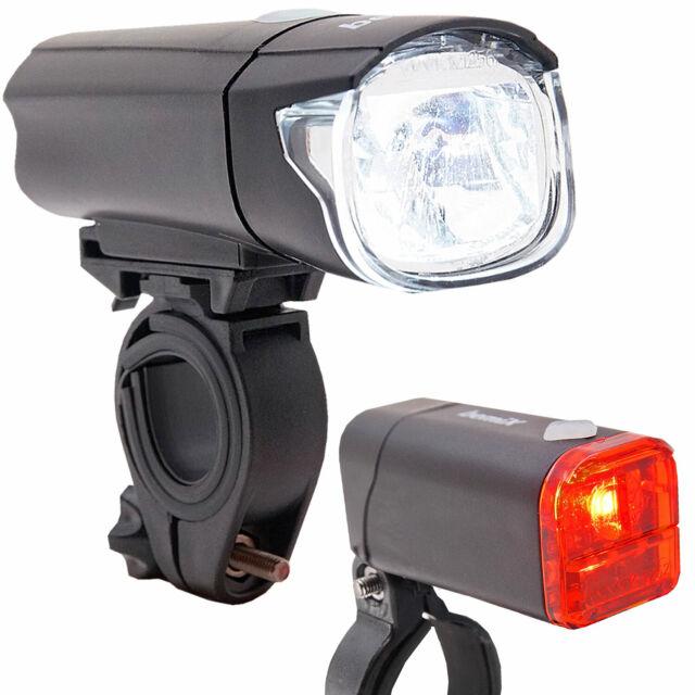 4x AAA Batterien Fahrrad 5 LED Power Beam Scheinwerfer Taschenlampe Inkl
