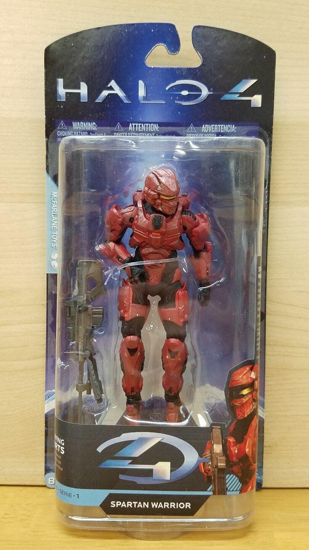 Halo 4 Game Stop Exclusive Spartan Warrior McFarlane Toys MOC