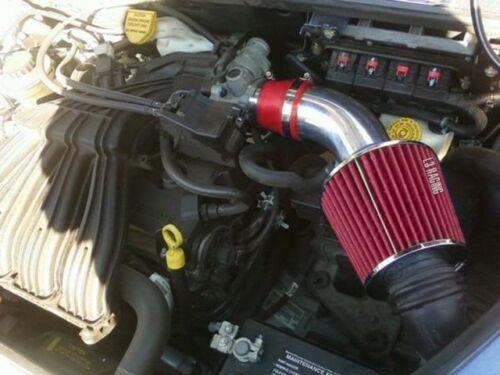 RED Filter For 01-09 Chrysler PT Cruiser 2.4L Non-Turbo Ram Air Intake Kit
