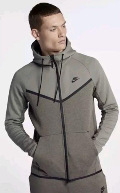 New Mens Nike Tech Fleece Windrunner Hoodie Jacket 885904-652 Port Wine Size 2XL