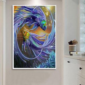 WO-NE-5D-DIY-Diamond-Painting-Tree-Embroidery-Cross-Art-Craft-Stitch-Home-Deco