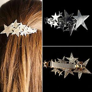 Wow 1 Pc Estrella Fugaz Clip Pin De Cabello Cabeza De Snap Garra Del