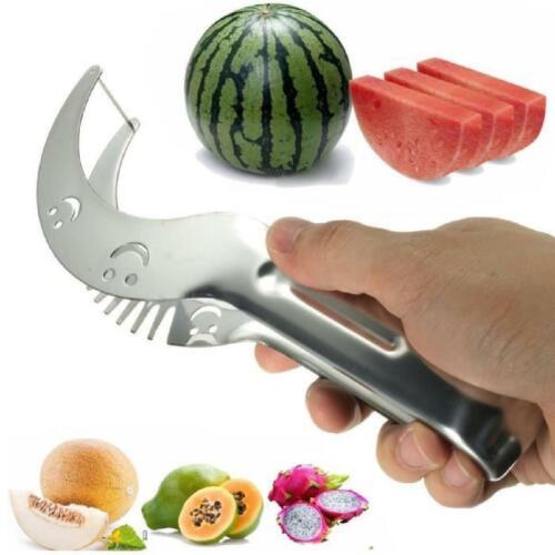 Couteaux découpe fruit pastèque ou melon Acier Inoxydable /& cuillère à Melon