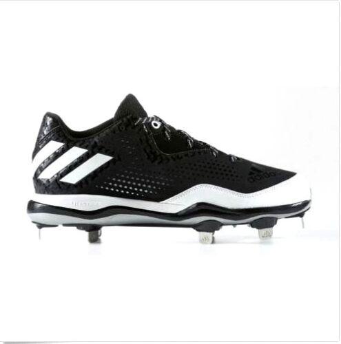 Blanco Baseball Adidas 11 Zapatillas Negro Metal 4 o Us Poweralley de Tama Plata cuero 5 fxWTW8n