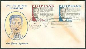 1966-Philippines-GEN-EMILIO-AGUINALDO-First-Day-Cover-A