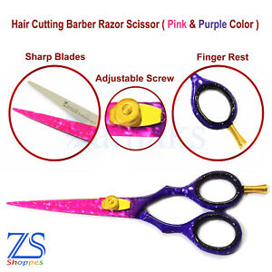 Hairdressing-Scissors-Barber-Styling-Hair-Cutting-Shears-Professional-Salon