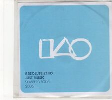(FD134) Absolute Zero, Just Music Sampler Four 2005, 6 tracks - DJ CD