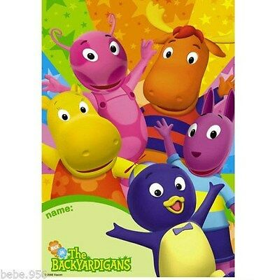 NEW ~~ BACKYARDIGANS ~8-LOOT BAGS   PARTY SUPPLIES