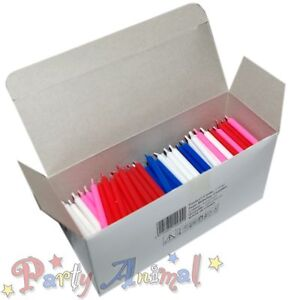 Image Is Loading 500 BULK Wholesale Wax Birthday Candles Cake Decorating