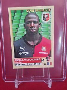Abdoulaye-Doucoure-Rennais-Everton-Panini-Foot-2014-15-Rookie-Sticker