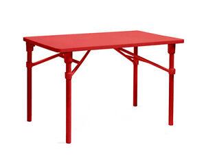 NARDI tavolo pieghevole ZIC da esterni ROSSO in ...