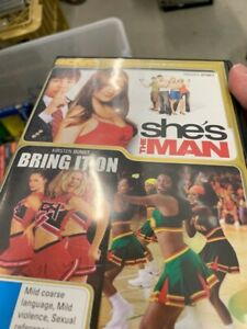 She-039-s-The-Man-Bring-It-On-DVD-2-Disc-Region-4-Rare-vgc-t2
