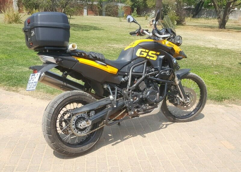 2008 BMW F800GS, excellent condition, for sale or swap