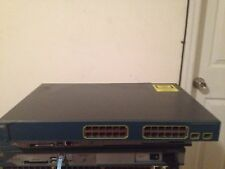 Cisco WS-C3560-24PS-S 24x 10/100Base-TX RJ-45 PoE Ports + 2 SFP Managed Switch