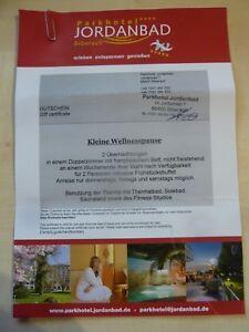 Gutschein Parkhotel Jordanbad in Biberach, Kurzurlaub, entspannen und relaxen