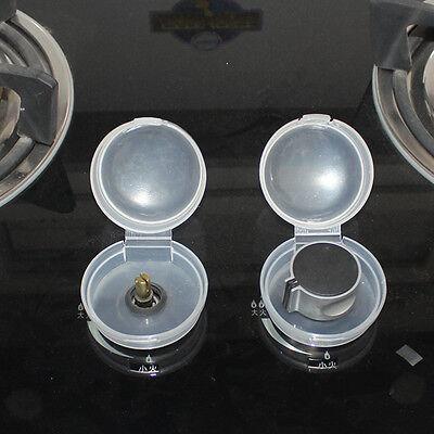 2 Stück Küchenschutz für Baby Kinder Sicherheit Herd und Backofen Knob Cove/_qi