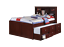 Landon-Full-Captains-Bed-with-Bookcase-Headboard thumbnail 3