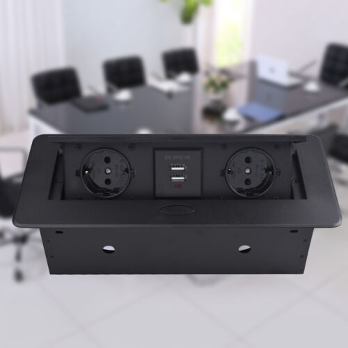 USB Möbel Steckdosen Küchen Steckdose unterbausteckdose aufbausteckdose 2 fach