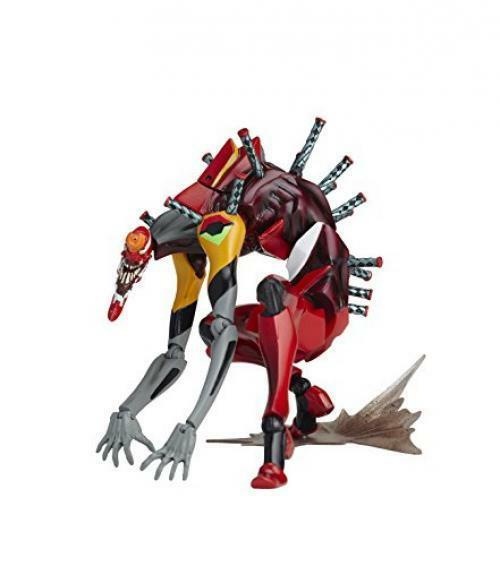 NEW Legacy of Revoltech LR-035 Evangelion Unit 02 The Beast Figure KAIYODO F S