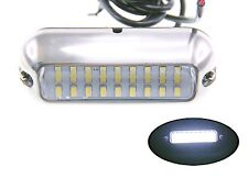 """Pactrade Marine Boat Pontoon Cool White 27 LED Underwater Light 3 3/4"""" S.S 316"""