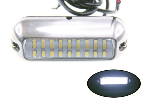 """Pactrade Marine Boat Pontoon Cool White 27 LED Underwater Light 3 3//4/"""" S.S 316"""